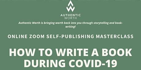 HOW TO WRITE A BOOK DURING COVID-19 tickets