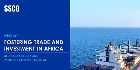 Fostering Trade and Investment in Africa Post BREXIT and COVID-19 tickets