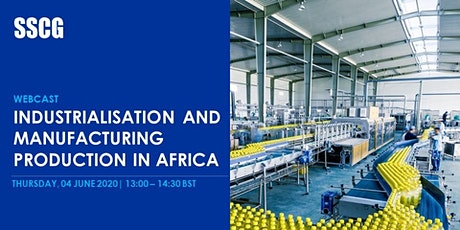 Industrialisation and Manufacturing Production  in Africa tickets