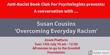 Anti-Racist Book Club Presents:   A Conversation with…. Susan Cousins tickets