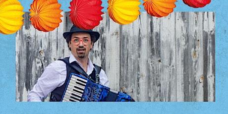 KinderKulturTag: Fränkische Kinderlieder・SommerSitz im E-Werk Garten Tickets