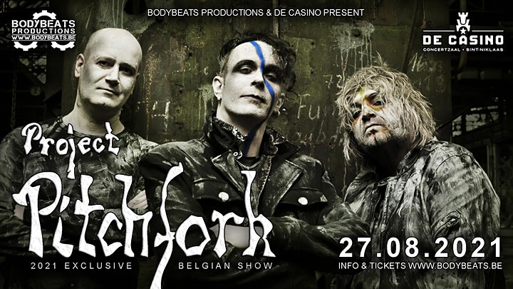 Afbeelding van Project Pitchfork - 2021 Tour @ De Casino