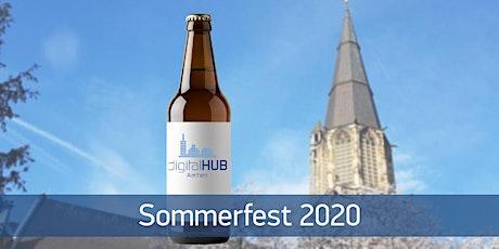 Sommerfest digitalHUB Aachen e.V. Tickets