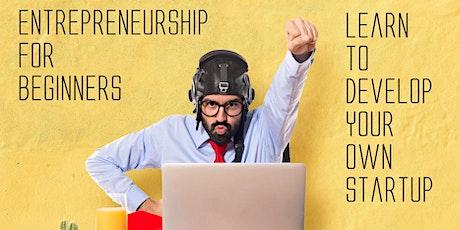 Entrepreneurship for Beginners - Startup   Entrepreneur Hackathon Webinar tickets