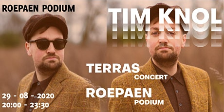 Tim Knol (solo) | Terrasconcert tickets
