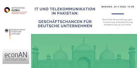 Informationsveranstaltung IKT-Dienstleistungen in Pakistan Tickets