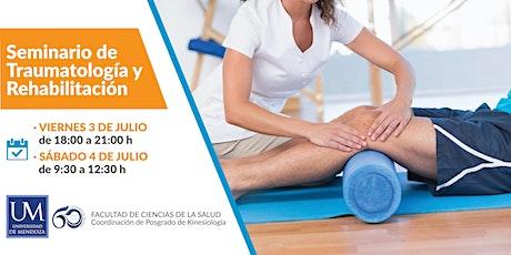 Seminario de Traumatología y ortopedia entradas