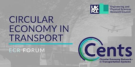 Circular Economy in Transport ECR Forum tickets