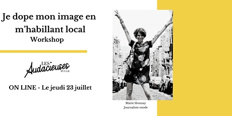 Workshop : Je dope mon image en m'habillant local tickets