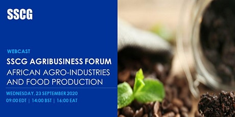 SSCG Agribusiness Forum - African Agro-industries  and  Food Production tickets