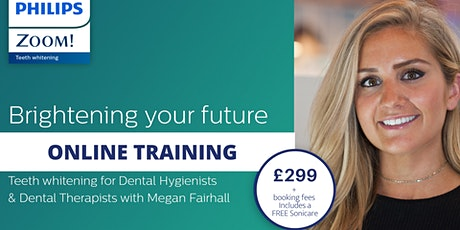 Online Teeth Whitening Training for Dental Hygienists & Dental Therapists tickets