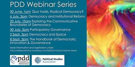 Exploring communicative boundaries of participatory&deliberative democracy tickets