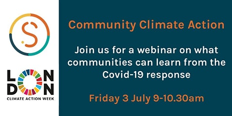 Community Climate Action in the wake of coronavirus - Semble x LCAW webinar tickets