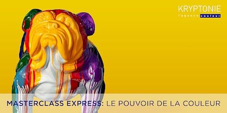 Masterclass Express: le pouvoir de la couleur billets