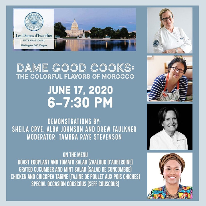 Dame Good Cooks:  The Colorful Flavors of Morocco image