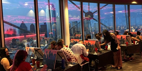 Painting With a View at Reunion Tower! tickets