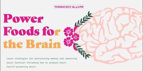 Power Foods for the Brain tickets