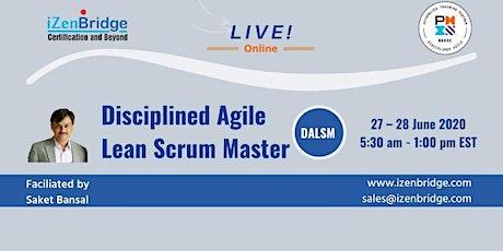 Disciplined Agile Lean Scrum Master boletos