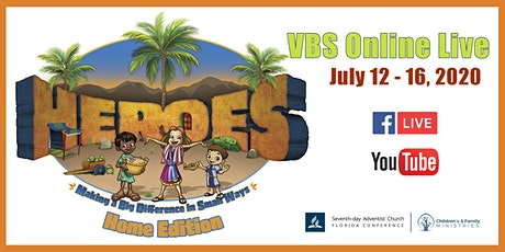Heroes VBS LIVE tickets