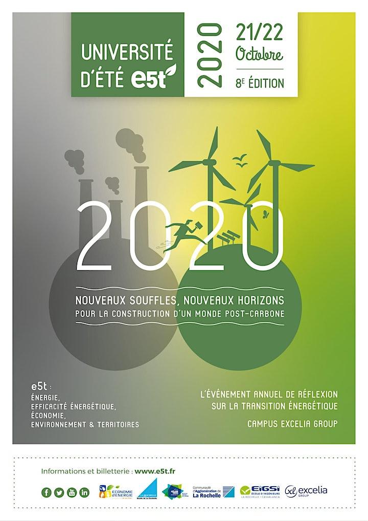Image pour Université d'Été E5T - La Rochelle