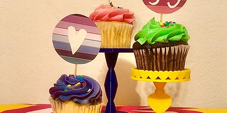 Sip & Skills - 3D Printed Cupcake Stands! tickets