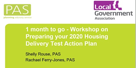 Housing Delivery Test Action Plan workshop (using Zoom) tickets