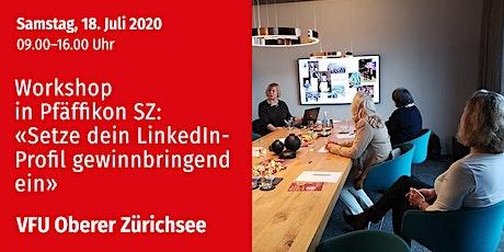Unternehmerinnen-Treff, Oberer Zürichsee, 18.07.2020 Tickets