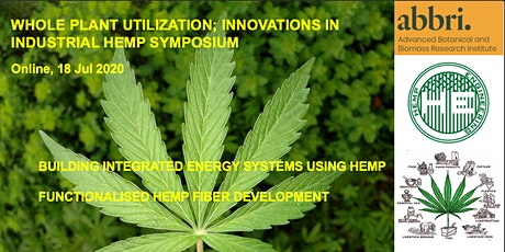 Whole Plant Utilisation; Innovations in Industrial Hemp tickets