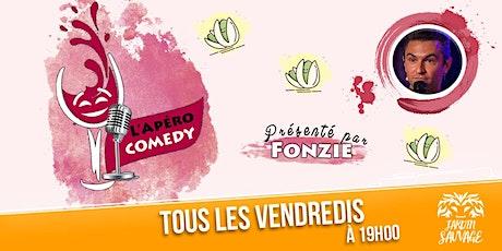 L'Apéro Comedy : le lieu idéal pour bien démarrer sa soirée. tickets