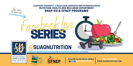 SUAGNUTRITION FACEBOOK LIVE: Nutrition Education&Physical Activity Lessons tickets