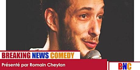 Breaking News Comedy : Encore plus drôle que BFM et CNews réunis ! billets