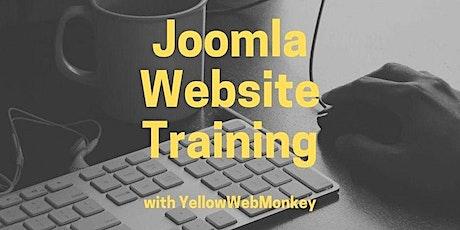 Joomla Website Training with YellowWebMonkey tickets
