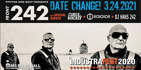 Front 242 with special guests Curse Mackey + IIOIOIOII + DJ Hans 242 tickets