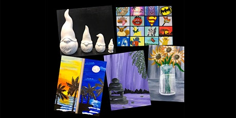 """SPECIAL PRICING """"Paint Anything You Want"""" Kids & Adults (5yrs+) tickets"""