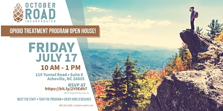 OCTOBER ROAD  OPIOID TREATMENT PROGRAM OPEN HOUSE! tickets