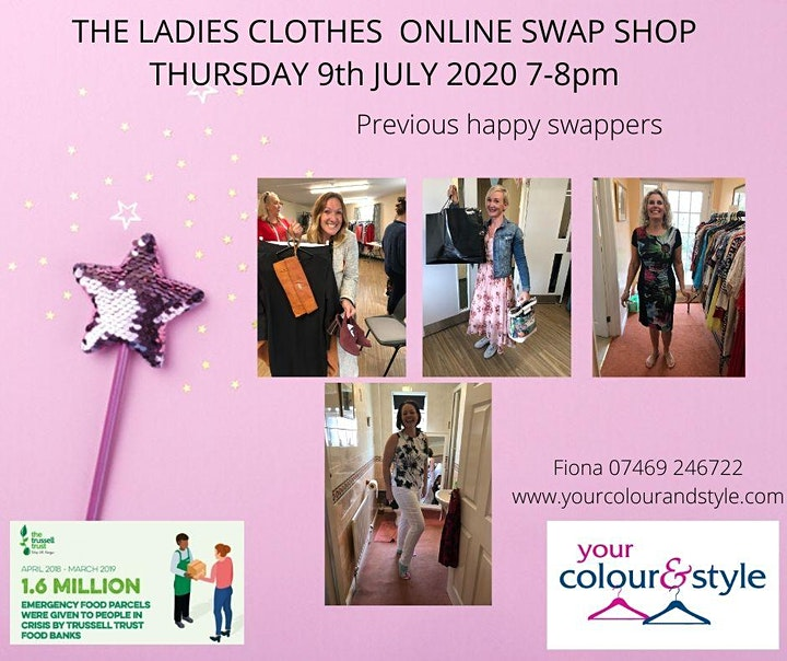 LADIES CLOTHES ON-LINE SWAP SHOP image