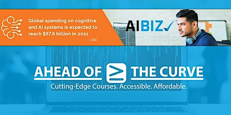 Artificial Intelligence for business professionals AIBIZ (originally $300) tickets