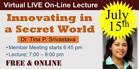Innovating in a Secret World (Virtual On-Line) tickets