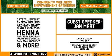 Community Wellness Empowerment Gathering (C.W.E.G) tickets