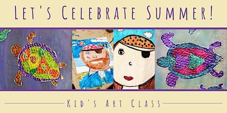 Kid's Art Class: Let's Celebrate Summer! tickets