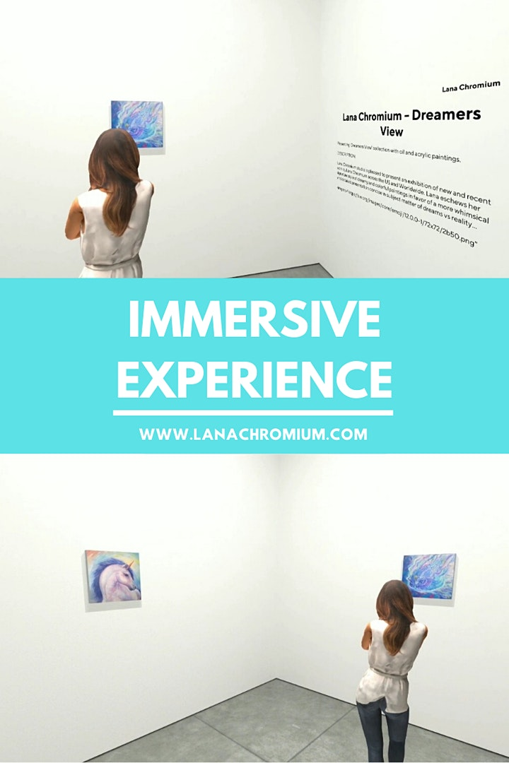 Online Viewing Room: Dreamers View ✨ Virtual Art Show Experience ✨ ROOM #1 image