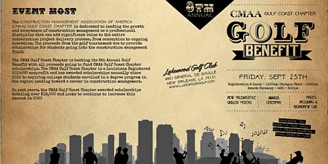 8th Annual Golf Benefit for CMAA Gulf Coast Chapter Scholarships tickets
