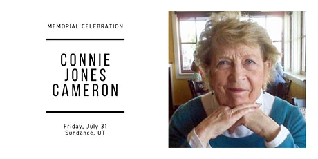 Connie Cameron Memorial Celebration tickets