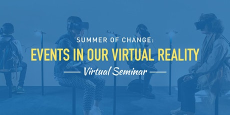 Eventology - Events in our VIRTUAL REALITY tickets