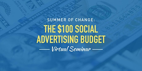 The $100 Social Advertising Budget tickets