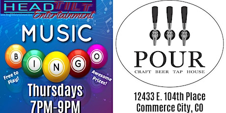 Music Bingo Every Thursday at Pour Tap House tickets