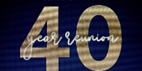 DATE CHANGE FOR Andover High School Class of 1980 Reunion - 40 yrs! tickets