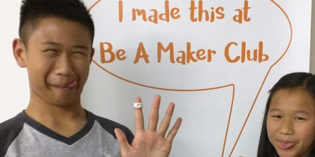 3D printing Level 1 (5-day summer camp) 14 to 15 years tickets