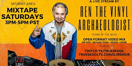 Ren the Vinyl Archaeologist Live Stream tickets