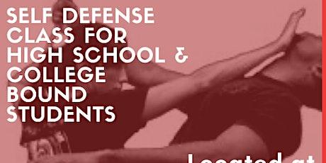 High school College self defense Class tickets